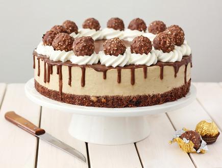 עוגת גבינה, מוקה ושוקולד
