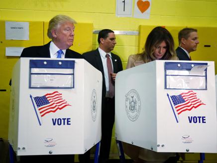 """בחירות בארה""""ב - בתמונות (צילום: רויטרס)"""