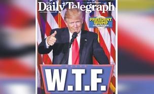"""""""מה לעזאזל?"""" (צילום: דיילי טלגרף, אוסטרליה)"""