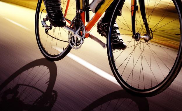 תאונה אופניים חשמליים (צילום: Shutterstock)