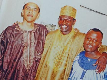 אובמה ואחיו (צילום: טוויטר)