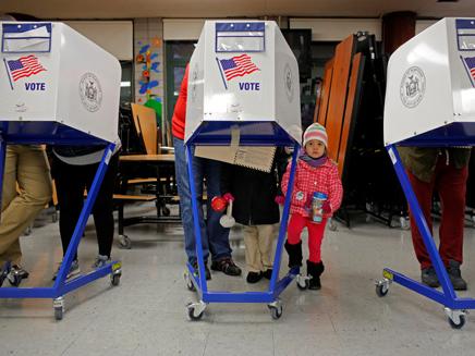 בחירות בארהב (צילום: רויטרס)