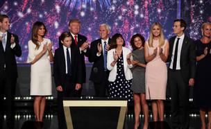 משפחת טראמפ (צילום: Alex Wong, GettyImages IL)