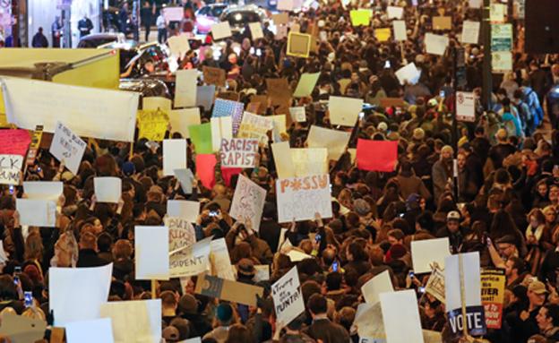 הפגנות ענק בערים הגדולות (צילום: רויטרס)