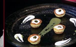 """עוגת גבינה אפויה של לירון (צילום: מתוך """"מאסטר שף"""" עונה 7, שידורי קשת)"""