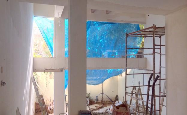 טליה קסוס, לפני השיפוץ, שיפוץ ביתי (1) (צילום: שירן כרמל)