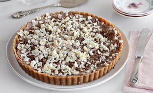 פאי שוקולד ללא אפייה (צילום: נטלי לוין, אוכל טוב)