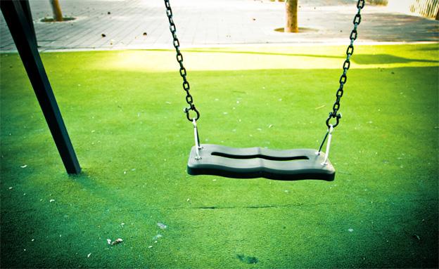 גן משחקים ציבורי (צילום: חדשות 2)