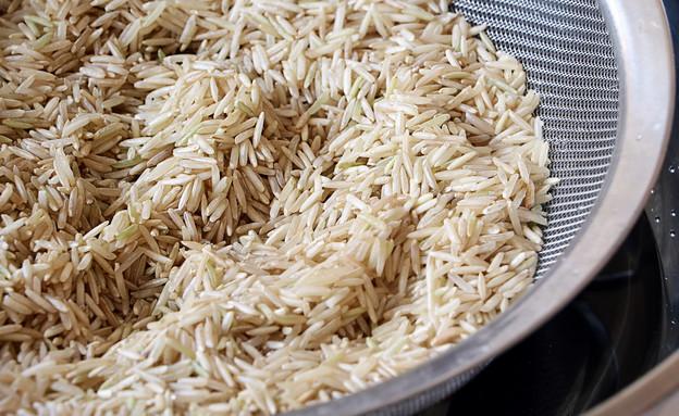 אורז אורז מלא - שטוף (צילום: נטע-חן ליבנה, אוכל טוב)