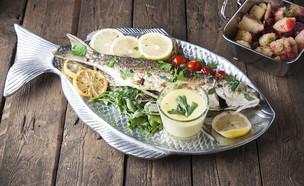 דג בורי בתנור (צילום: אפיק גבאי, מאסטר שף)