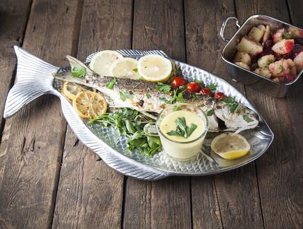 דג בורי בתנור