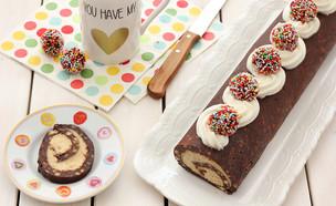 רולדת כדורי שוקולד פטנט (צילום: ענבל לביא, אוכל טוב)