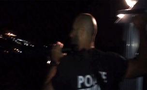 החיפושים בכינרת, הערב (צילום: דוברות המשטרה)