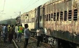 רכבת, הודו (צילום: חדשות 2)