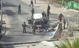 פיגוע ירי בגבעת התחמושת (צילום: חדשות 2)