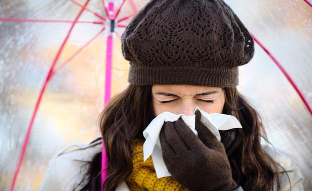 שפעת (צילום: ShutterStock)