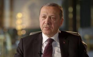 נשיא טורקיה בראיון בלעדי (צילום: מתוך עובדה, שידורי קשת)