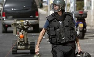 חבלן משטרתי, אילוסטרציה (צילום: רויטרס)
