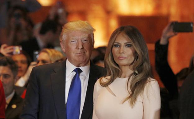 לא יגורו ביחד? דונלד ומלניה טראמפ (צילום: רויטרס)