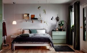 חדרי שינה 12, ג, הגבולות בין הסגנונות מטושטשים (צילום: יחצ איקאה)