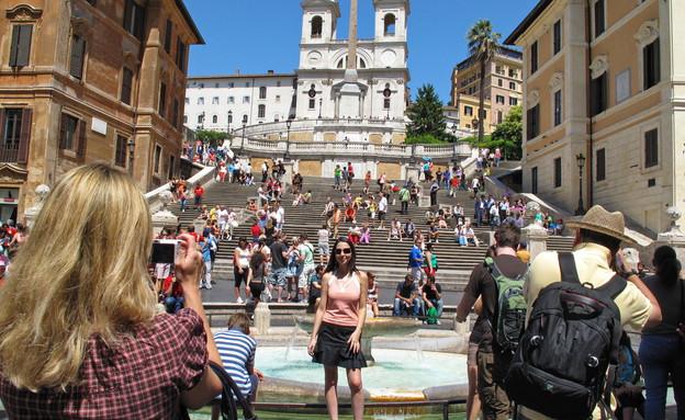 המדרגות הספרדיות, רומא (צילום: MikeDotta, Shutterstock)