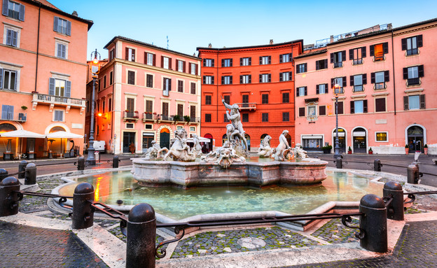 פיאצה נבונה, רומא (צילום: Emi Cristea, Shutterstock)