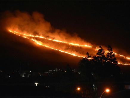 השריפה ליד כרמיאל