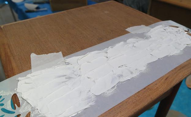 סדנה16, עוברים מעליה עם שפכטל עץ (צילום: עופרי פז)