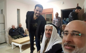 אנס אבו דעאבס לאחר ששוחרר (צילום: סקר אבו סועלוק)