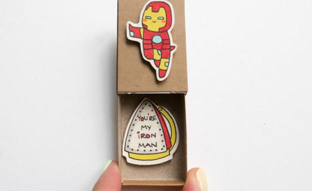גפרורים כרטיסי ברכה (צילום: shop3xu)
