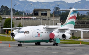 רישיון החברה נשלל באופן זמני. מטוס לה-מי (צילום: טוויטר)