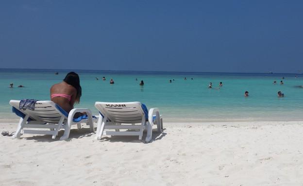 חוף הביקיני במאפושי (צילום: מתן גז, mako חופש)
