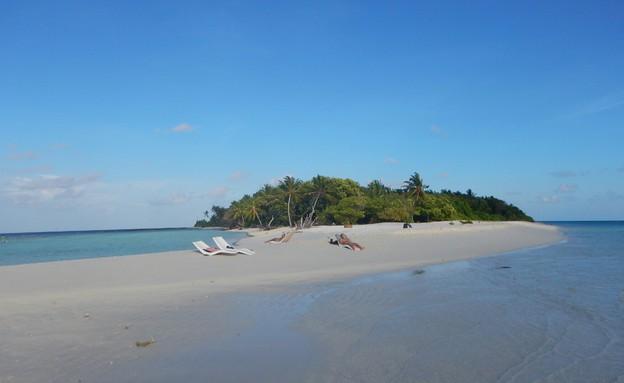 חוף מושלם באומדו (צילום: מתן גז, mako חופש)