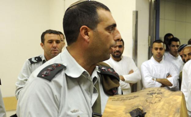 """""""אפס סובלנות לפגיעה מינית"""". בוכריס (צילום: IDF)"""