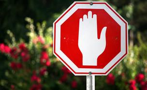 תמרור עצור (צילום: ShutterStock)