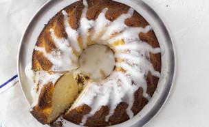 עוגת סולת, יוגורט ולימון (צילום: דניאל לילה, סגנון: דלית רוסו, מחלבות גד)