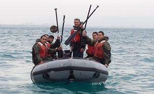 """מסע סטיל""""ן בחיל הים (צילום: שי לוי)"""