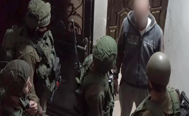 מעצר חוליית מחבלים (צילום: חדשות 2)