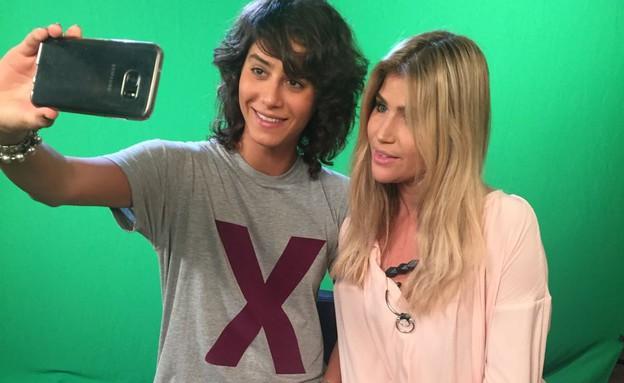 שי מיקה וארבל קינן (צילום: רותם אלון)