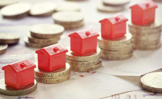 """עליית מחירי הנדל""""ן (צילום: Shutterstock)"""