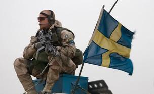 חייל שבדי (צילום: אתר צבא שבדיה)