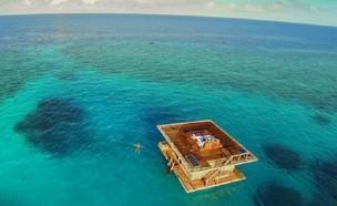מלון מתחת למים (צילום: The Manta Resort)