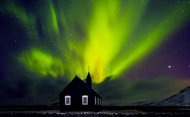 זוהר הקוטב הדרומי (צילום: Anna Om, Shutterstock)