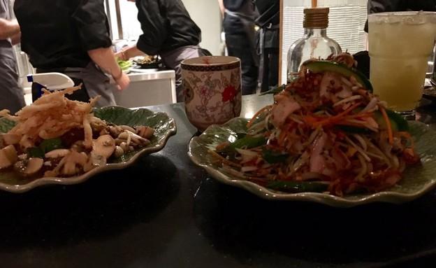 אסיה מסעדה יפו סלט תאילנדי (צילום: ג'רמי יפה, אוכל טוב)