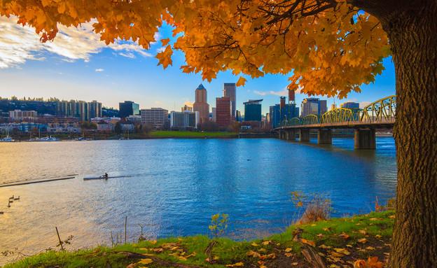 פורטלנד, אורוגון (צילום: Josemaria Toscano, Shutterstock)