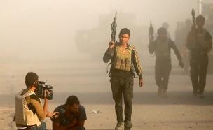 עיתונאי עירקי נפצע במוסול (צילום: רויטרס)