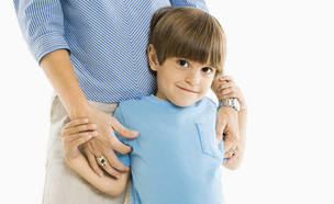 ילד ביישן (צילום: Shutterstock)