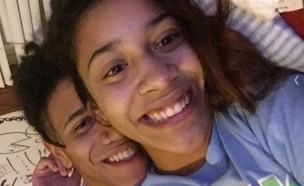 בני הזוג שנראים כמו תאומים (צילום: snapchat, מעריב לנוער)