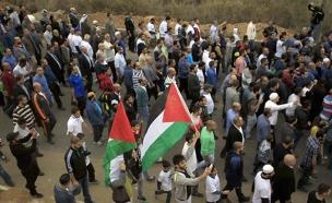 הפגנה של התנועה האסלאמית. ארכיון (צילום: פלאש 90, מואמר אוואד)
