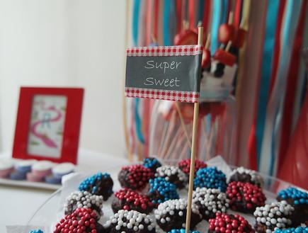 קישוטים 12, פשוט להכנה ומוסיף צבע לשולחן (צילום: עופרי פז)